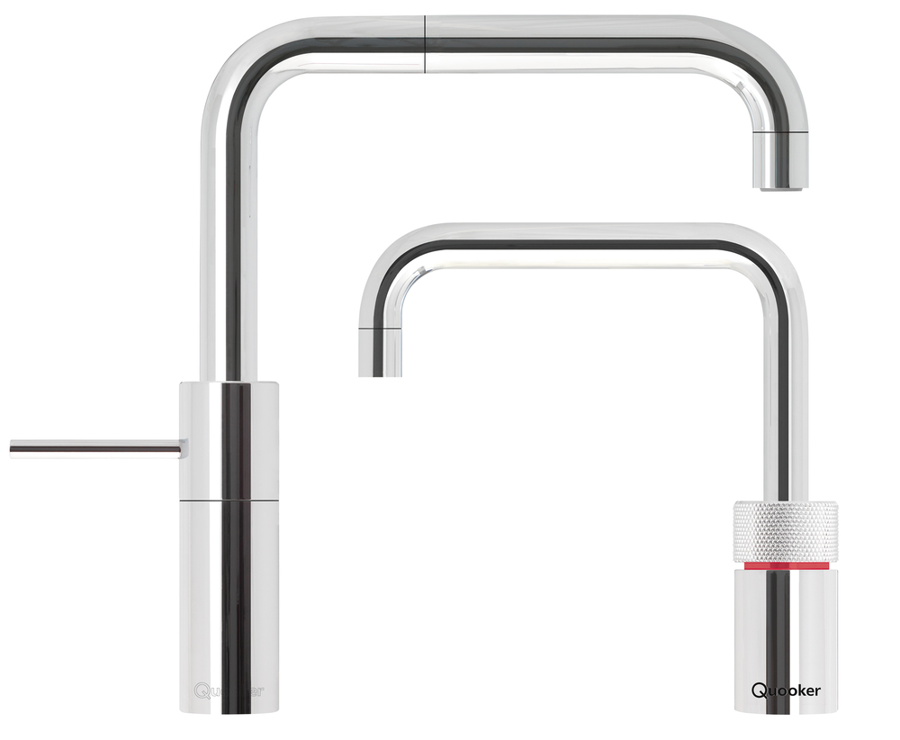 quooker twin taps square