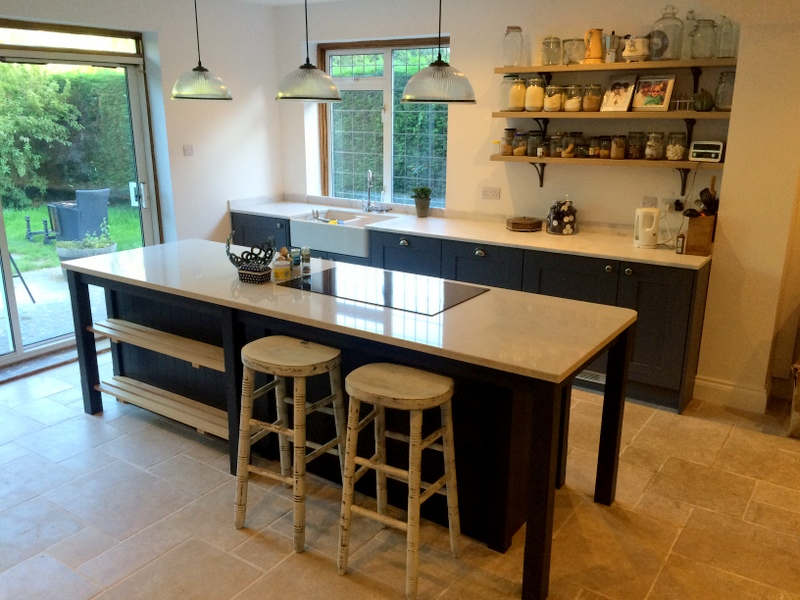 Recently completed kitchen in Sevenoaks, Kent
