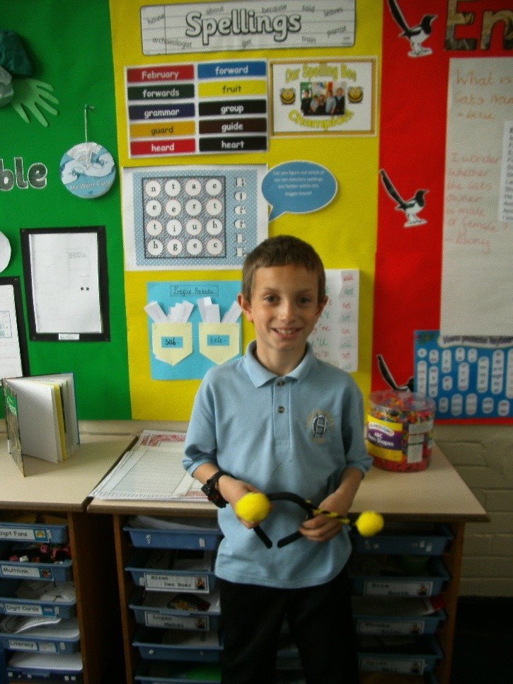 In class 3ES, we have a new 'Spelling Bee' champion. Drum roll please…..our new Spelling Bee champion this week is Logan Mahdi who made a progress score of 6. Well done Logan! -