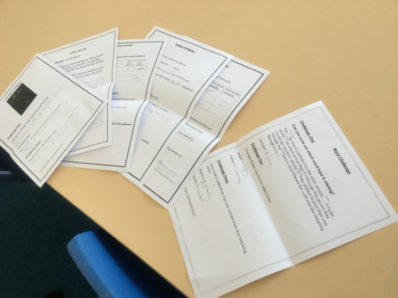 EnglishIn English we completed a murder mystery where we had to use our English skills to find out the murder, place and weapon. -