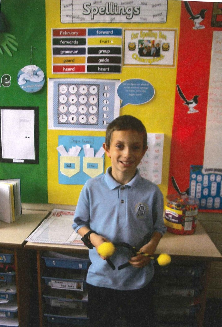 Logan is our new 'Spelling Bee Champion', having scored 10/10 in a spelling test and for making the most progress. Well done Logan! -