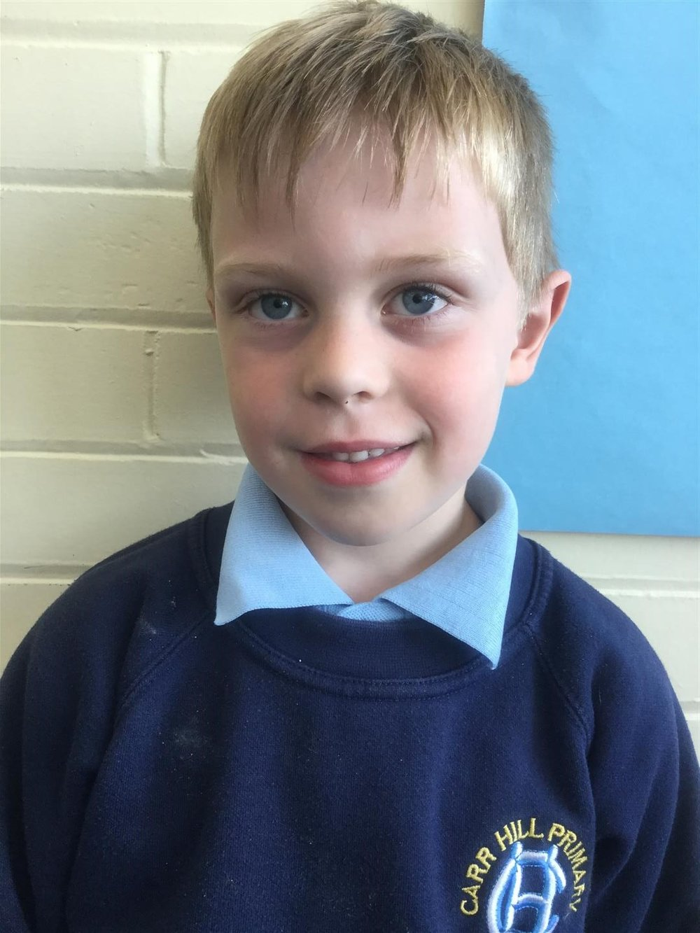 This week's Explorer of the Week is Samuel, for always working hard and showing a conscientious attitude. -