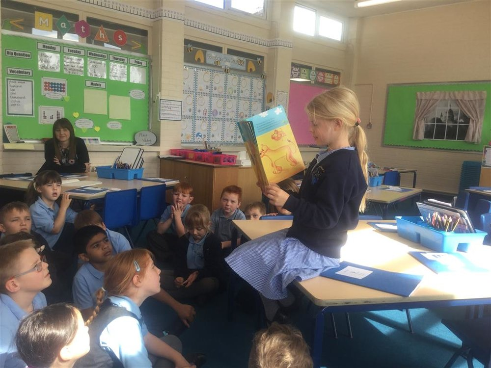 Tilly has brought her own book in to school this week as she recognised that it was a story all about respect. We have really enjoyed listening to the story and we were that impressed by Tilly's thoughtfulness that we entered her on to Mrs Alford's Hall of Fame. Well done and thank you, Tilly! -