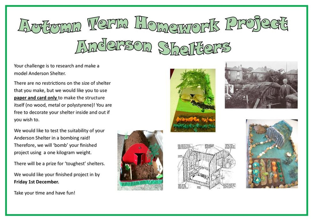 AUTUMN TOPIC HOMEWORK ANDERSON SHELTERS.jpg