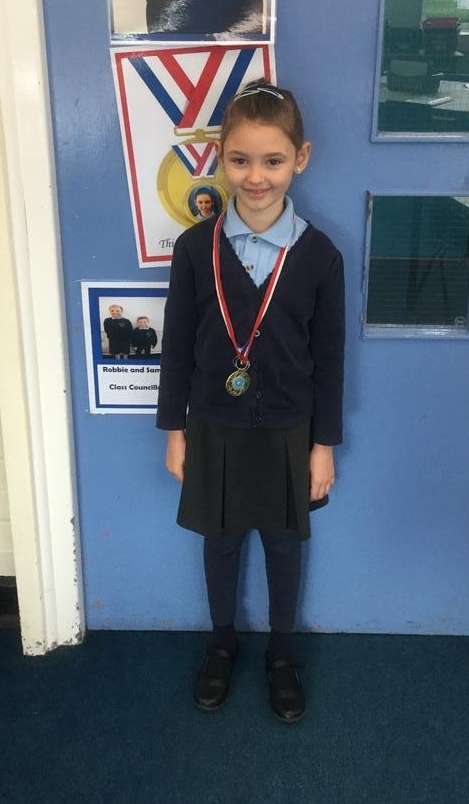 Our 'Champion of the Week' is Agnes for her continued hard work and effort in class and an improvement in her attitude to learning. Well done Agnes! -