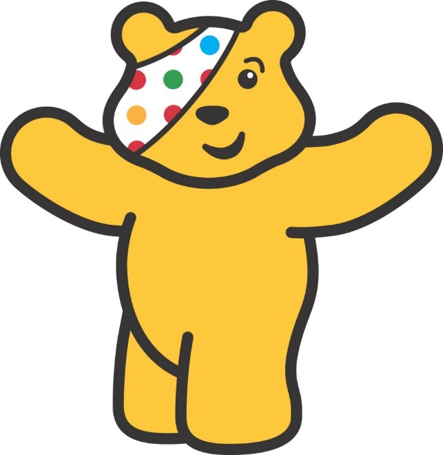 "This week was National anti-bullying week. We thought it was a perfect opportunity to link our work on Remembrance to the work done to raise money for ""Children in Need"". -"