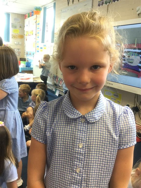 This week's Explorer of the Week is Anabelle for really getting stuck in with our discussions this week and thinking deeply! -