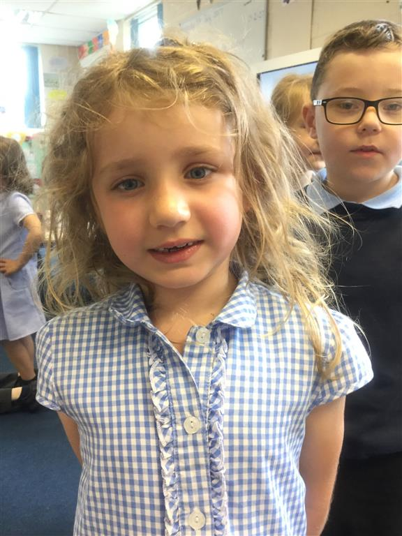 Our Explorer of the Week is Lilly. She always shows excellent behaviour for learning. -