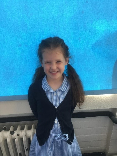 Our Explorer of the Week is Breah, for working really hard with her reading this week! Well done Breah! -