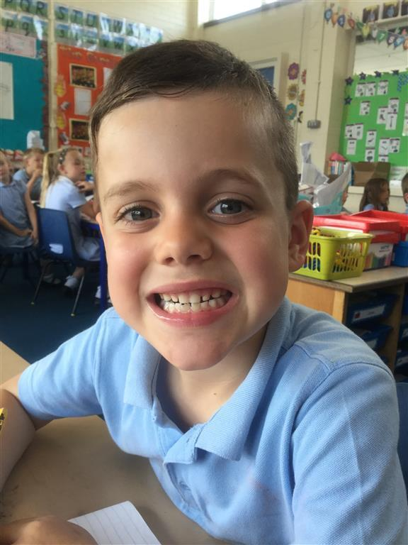 This week's Explore of the Week is James, for trying particularly hard this week. Well done! -