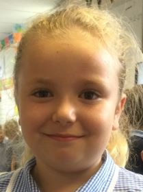 Our Explorer of the Week is Ellie-Mae. She always shows excellent behaviour for learning. -