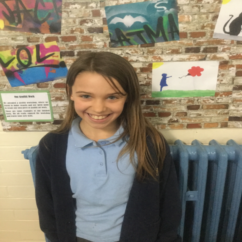 Well done to Maria, our super star of the week. Her attitude and effort was exemplary all week. -