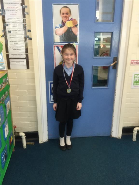 Our 'Champion of the Week' is Olivia. She is always willing to help others, both in and out of lessons, and has shown a positive attitude when tackling maths problems. Well done Olivia! -