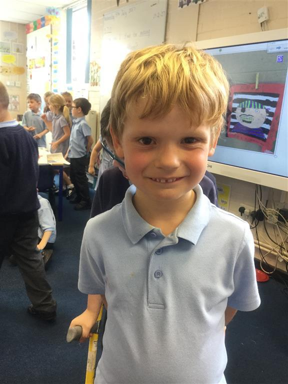 Our Explorer of the Week is Mason. He has been working particularly hard in all areas, but especially with his spelling and handwriting. Well done Mason! -