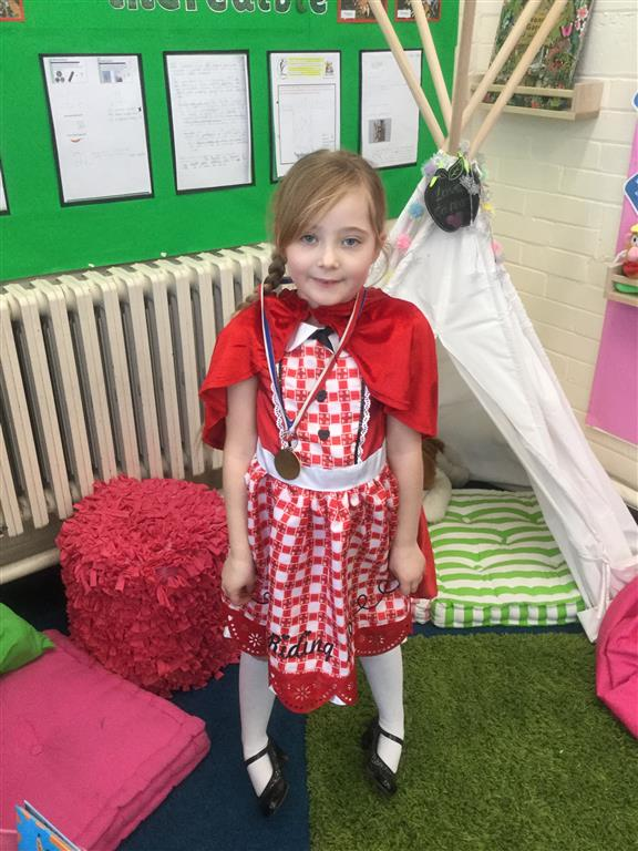 Savannah is our 'Champion of the Week' for trying her best in a reading test this week and for having a positive attitude towards her work. Well done and keep it up Savannah! -
