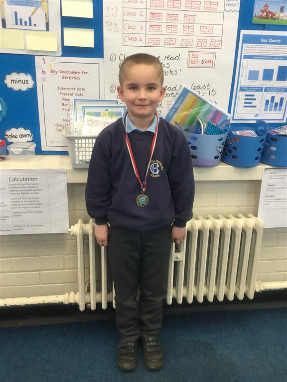 Our 'Champion of the Week' is Mitchell for always trying his best in lessons and having a positive attitude, even when he is struggling to understand the work.  Well done Mitchell! -