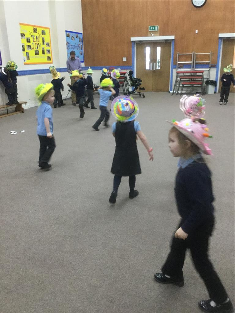 The children enjoyed their Easter Parade on Wednesday. thank you so much for all your support with the 'Easter Bonnets' they were all amazing! -
