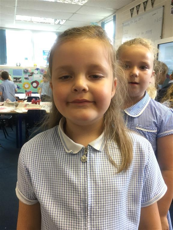 Our Explorer of the Week is Evie B, for always working hard and showing excellent behaviour for learning. -