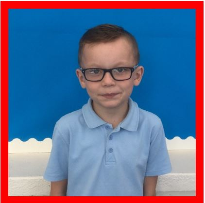 Our Champion of the Week is Alfie because he is always keen, eager and willing to try as hard as he can. He is also practising his times tables at home very regularly. Well done, Alfie – keep up the good work! -