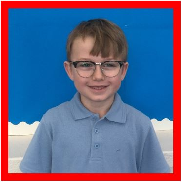 Our Champion of the Week is Luke because of his super positive attitude. He is always willing to listen to advice and make improvements to his work. Keep it up, Luke! -
