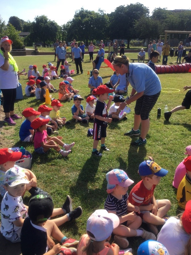 We had sports day on a very hot Wednesday morning but we had great fun showing our friends and families just how fantastic we are at lots of different sports skills. We would like to thank everyone who was able to join us for another memorable Carr Hill event.. -