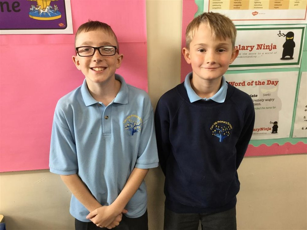 Enterprise representatives- Will and Ollie -