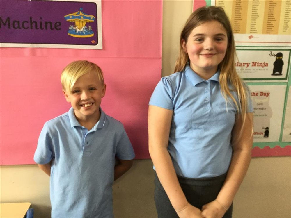Green champions - Blake and Sophia -