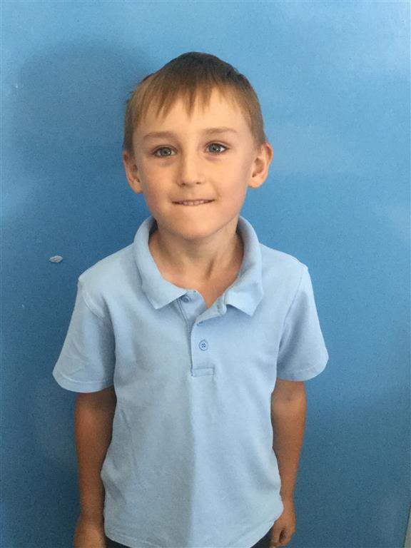 This week's Explorer of the Week is Harvey. He has been trying really hard in coming into the classroom, early in the morning. Well done Harvey! -