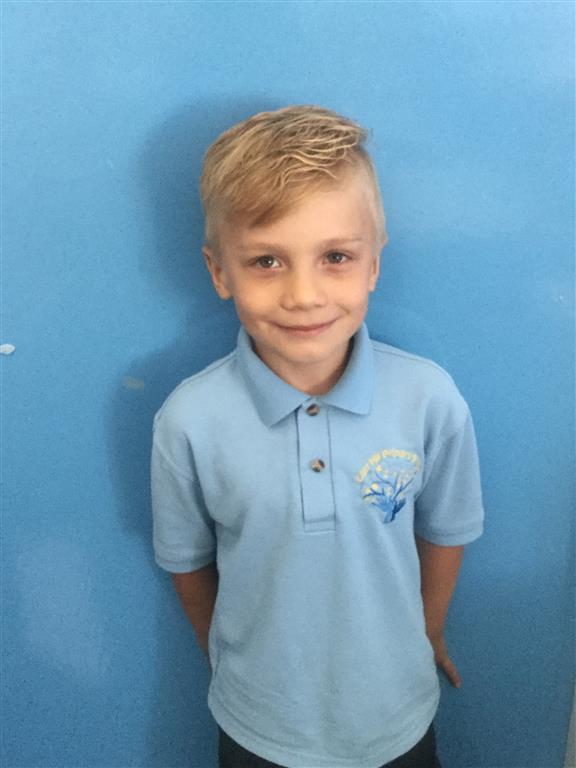This week's Explorer of the Week is Alan. He has been making extra effort in class! Well done and keep it up! -