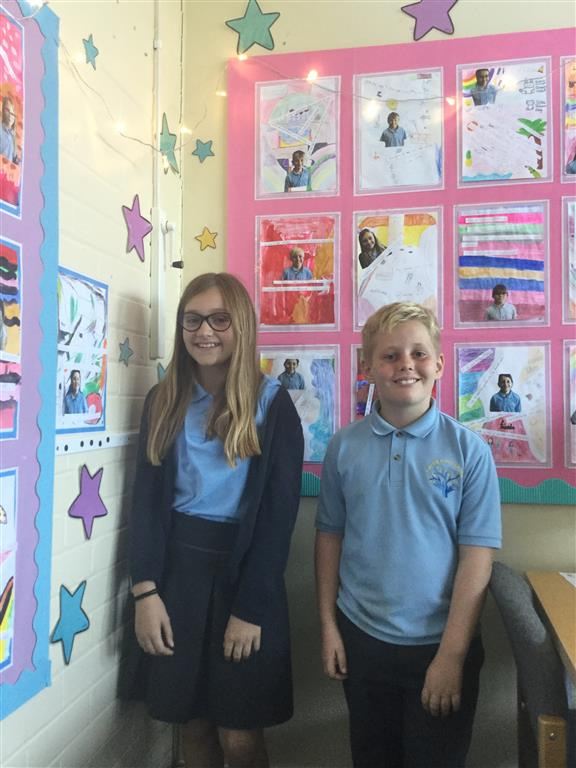 Last but not least, 6LDC now have two new journalists. Will and Amelia have volunteered to be responsible for writing a report and taking photographs of our week, for the blog. -