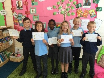 This week's superstars! Well done Matthew, Cezary, Jessica, Chisom, Serok and James. -