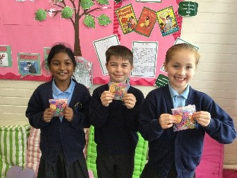 Hall of Fame - Madhu, Zach and Lexi have such a super attitude towards school that they went to Mrs Alford's Hall of Fame this week. Well done!