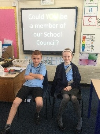 ..before we announced our new class councillor (Lucy) and vice councillor (Riley) -