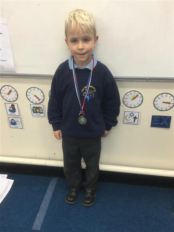 Our 'Champion of the Week' is Zac, who has shown a wonderful positive mindset throughout the curriculum, always trying his best. Well done Zac! -