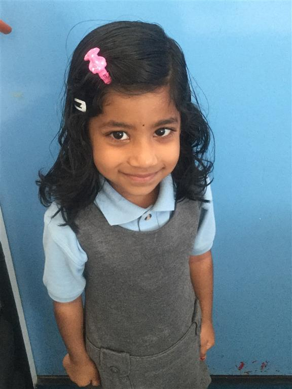 Our Explorer of the Week is Sivanjali as she always shows fantastic behaviour for learning and tries her best! Well done Sivanjali! -