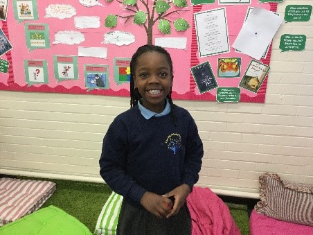 Chisom has been so impressive this week that she has been to the 'Hall of Fame'. She has worked extremely hard all week and completed some fabulous, independent Maths work. You've been 'cooking on gas' this week Chisom! Well done. -
