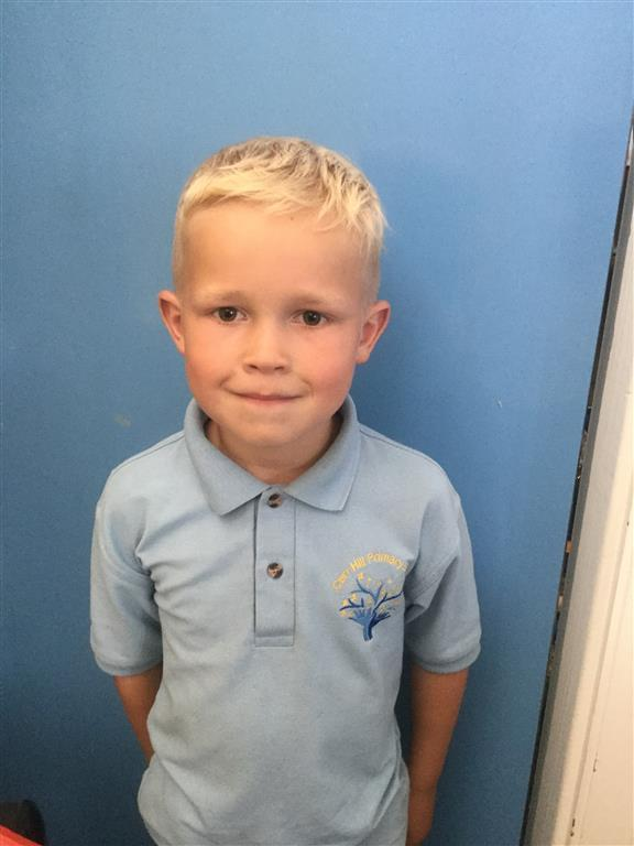 Our Explorer of the Week is Max as he always shows fantastic behaviour for learning and tries his best! Well done Max! -