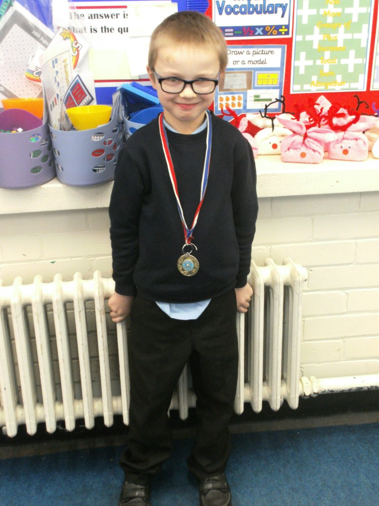 Our 'Champion of the Week' is Ayden, for his continuous hard work and effort in lessons. Well done! -
