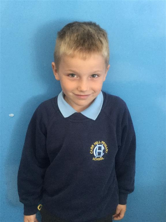Our Explorer of the Week is James. He has been trying extra hard this week and has a fabulous positive attitude. -