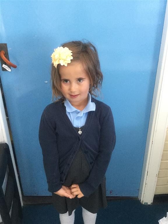 Our English star this week is Gaia. She always works really hard on her written work to make sure it is the best it can be and is a very enthusiastic writer. -