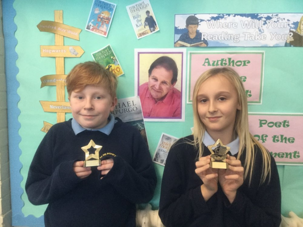 This week the school has introduced maths and English star rewards! This week Eden received English star for his great work using colons and semi colons and Tamzin was awarded maths star for her perseverance when it came to solving reasoning problems! Well done guys! -