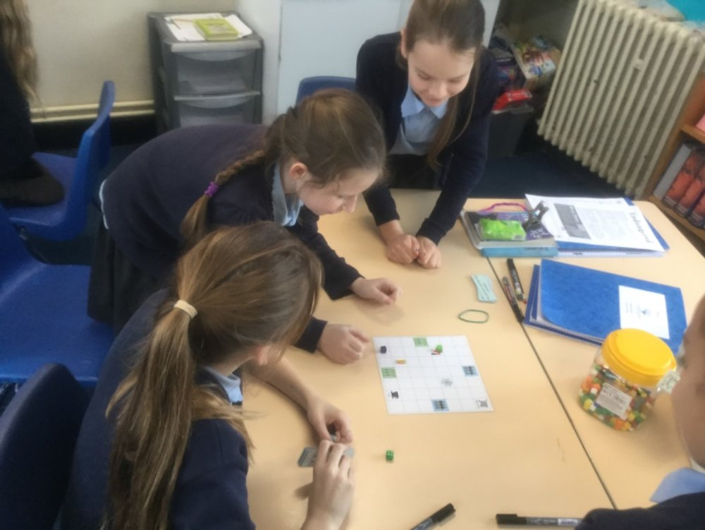 In English we have been learning about the active and passive voice! To help with our learning we played a zombie apocalypse game changing the different scenarios from the active to passive voice and vice versa! -