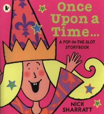 """This week we been very imaginative. We shared the Nick Sharratt book """"Once upon a time"""". Which we found out is similar to his """"Pirate Pete"""" story. -"""