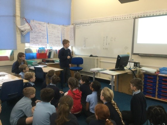 Maths reasoning: During our Maths work, we have been debating and explaining key strategies for comparing fractions. -