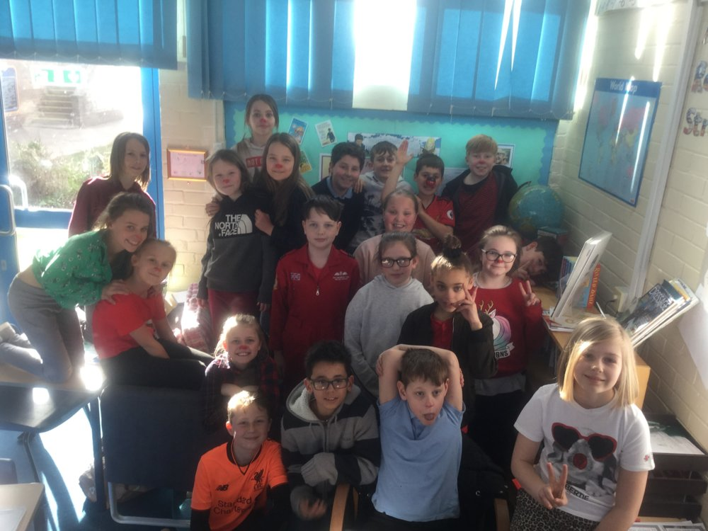 Red Nose Day - Thank you for all of your donations!