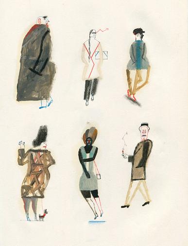 Ilustración de Jesús Cisneros en ILUSTRARTE 2016