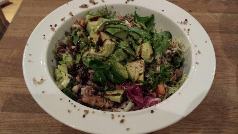 Mackerel & Quinoa Salad