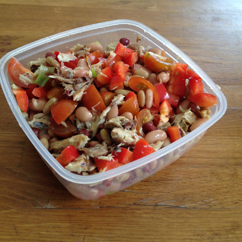 Mackerel & Pepper salad