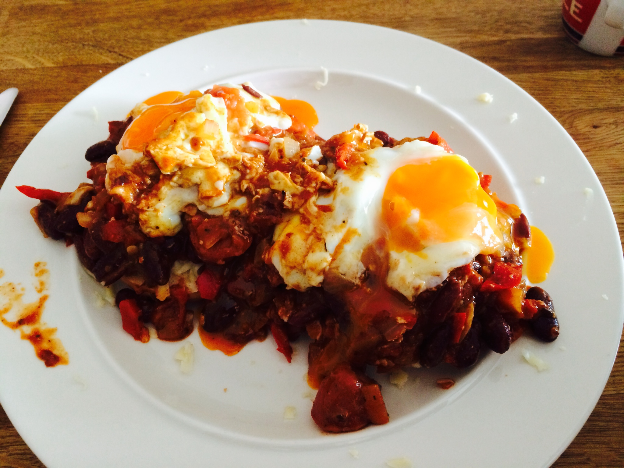 Mexican Egg & Bean Breakfast