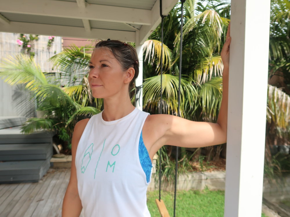 Wall Pectoral Stretch  - Place the arm at 90 degrees to the shoulder flat at the wall, then turn your chest away from the arm to stretch the front of the chest. Hold for 1 minute.